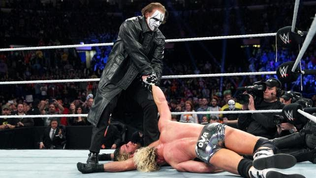 Sting debuts in WWE!