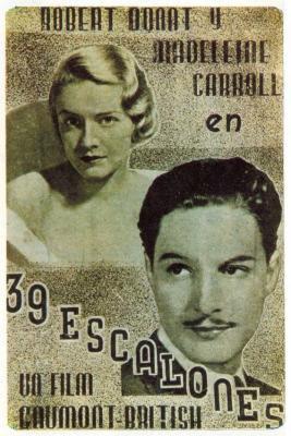 39 escalones (1959)