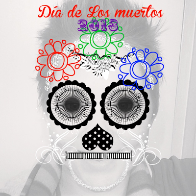 Day of the Dead : Día de los muertos 2013 using RhonnaDesigns iPhone app by BeckyCharms