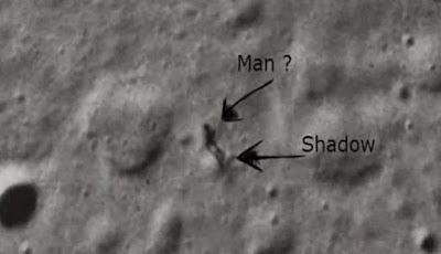 Splashy Video Sightings Alien on the Moon
