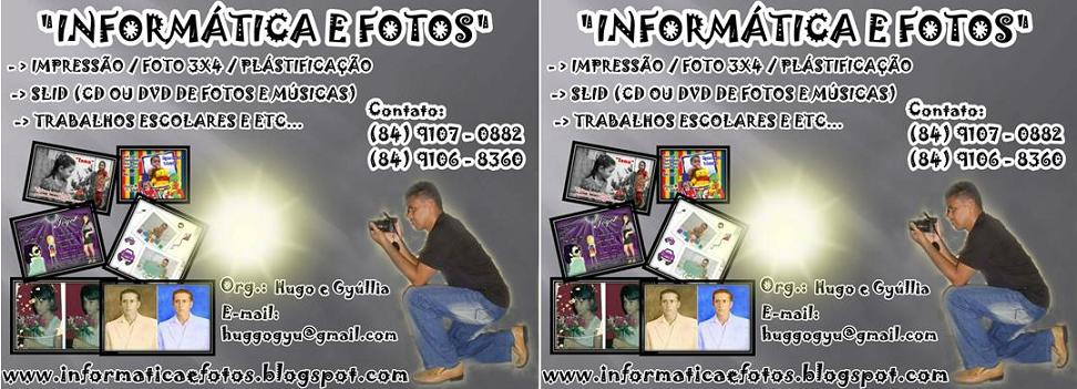 Informática e Fotos