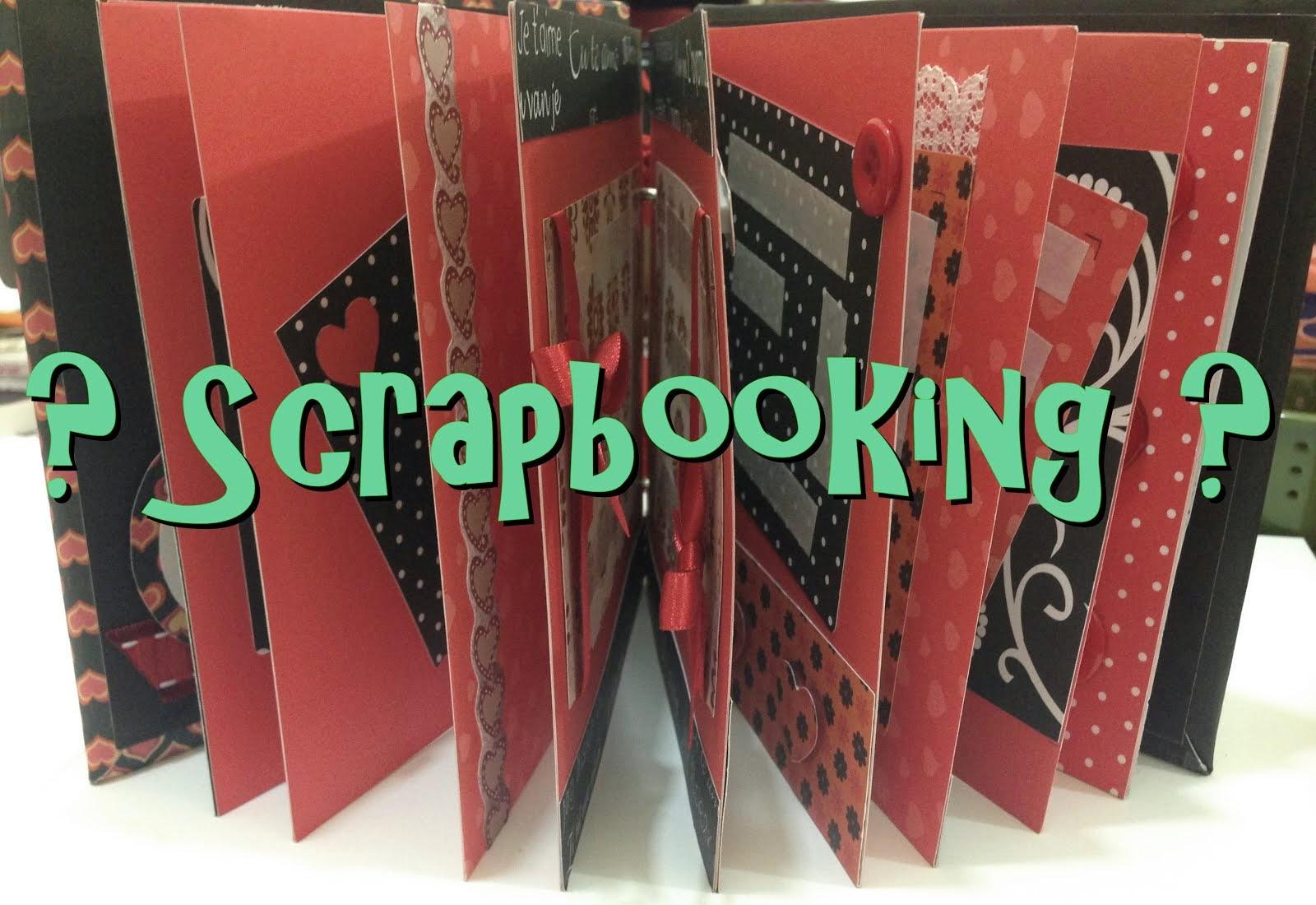 Ainda não conhece o Scrapbooking?