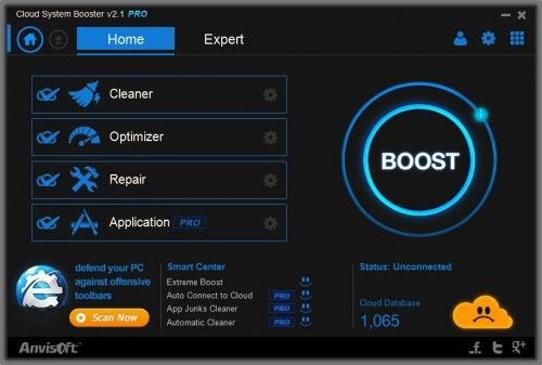 Cloud System Booster v2.1 seriale