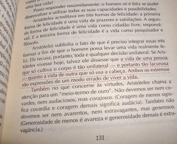trecho, resenha, livro, O Mundo de Sofia, Jostein Gaarder, Aristóteles, filosofia