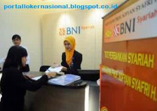 Lowongan Kerja PT. BANK BNI SYARIAH