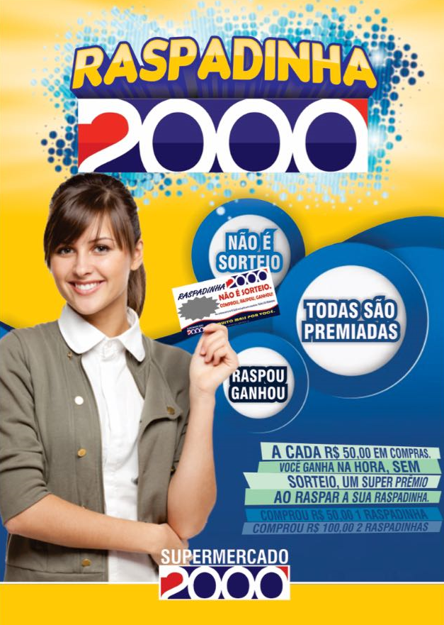 Publicidade: Raspadinha do Supermercado 2000