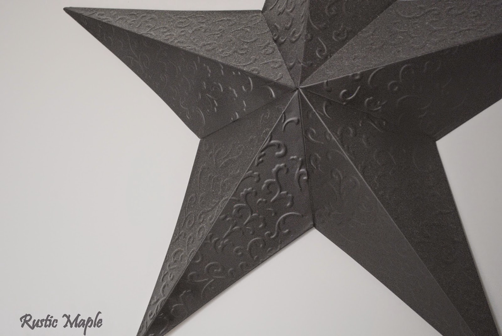 Metal Star Wall Decor Rustic Maple Ten Minutes Spray Paint And A Barn Star For Our