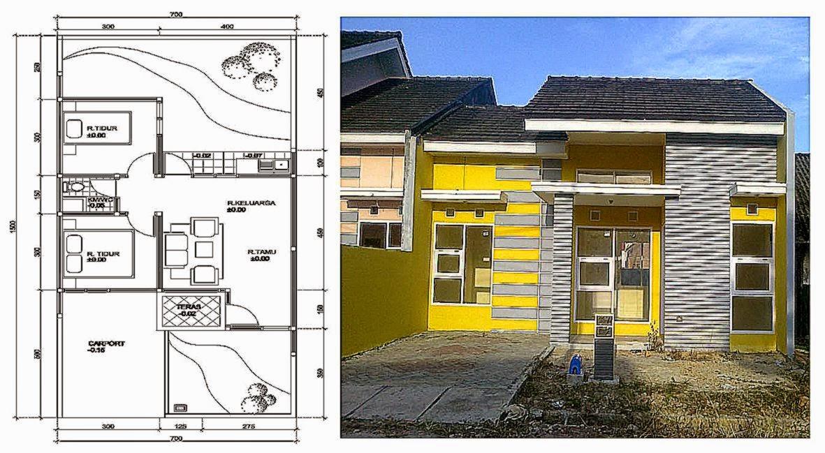 Contoh Desain Rumah Ukuran 4x12  My Blog