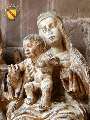 RAMBERVILLERS (88) - L'église Sainte Libaire - Vierge à l'Enfant