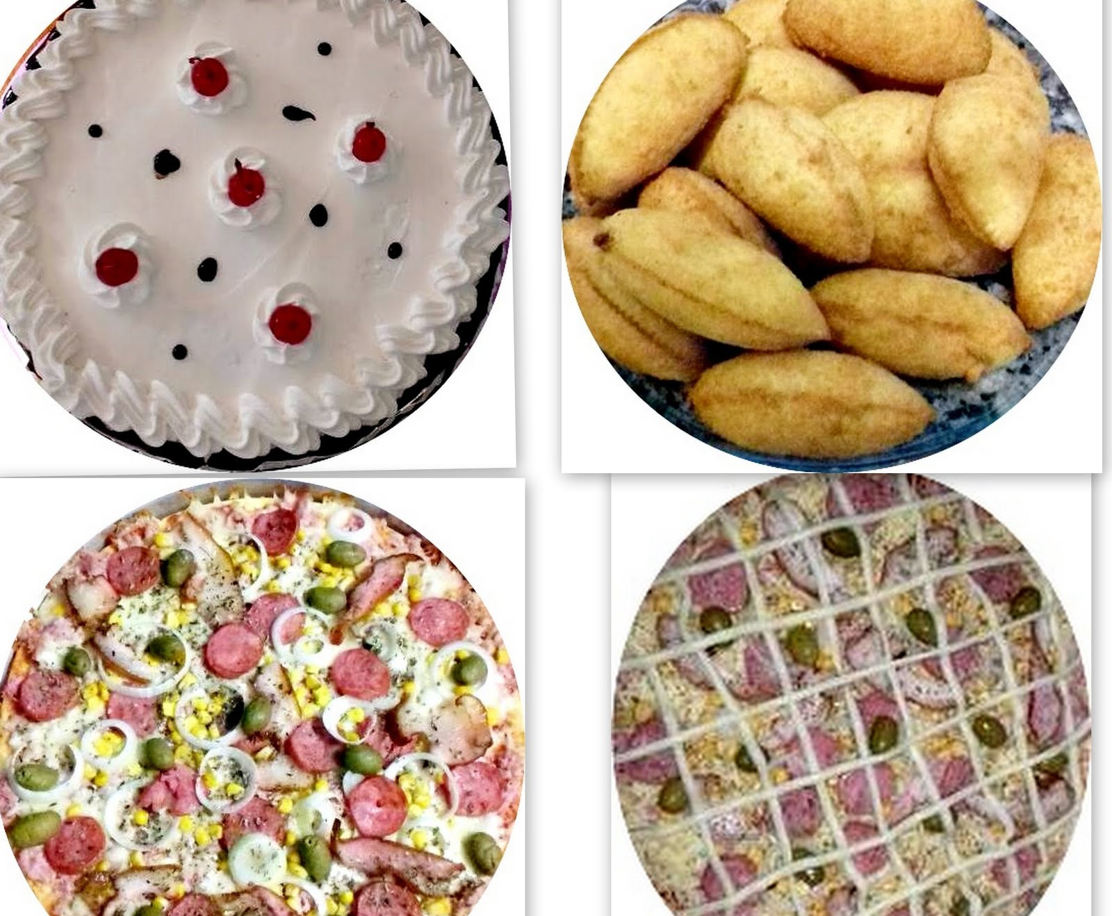 Encomenda de bolos & salgados