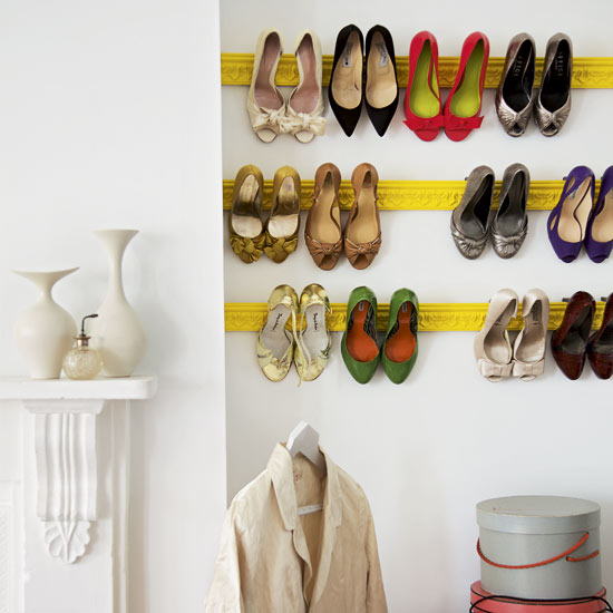 Brilliant DIY Shoe Storage Ideas 550 x 550 · 51 kB · jpeg