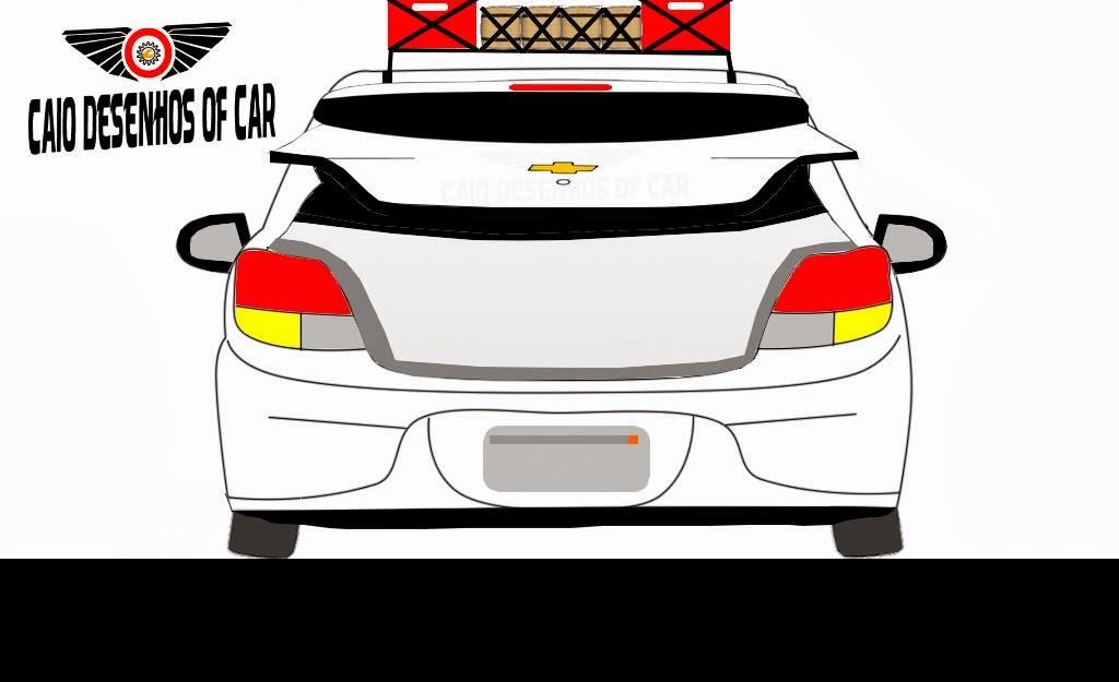 Crie Seu Carro Desenhos: Chevrolet Onix 2013