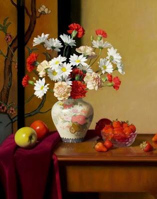 jarrones-decorativos-con-flores