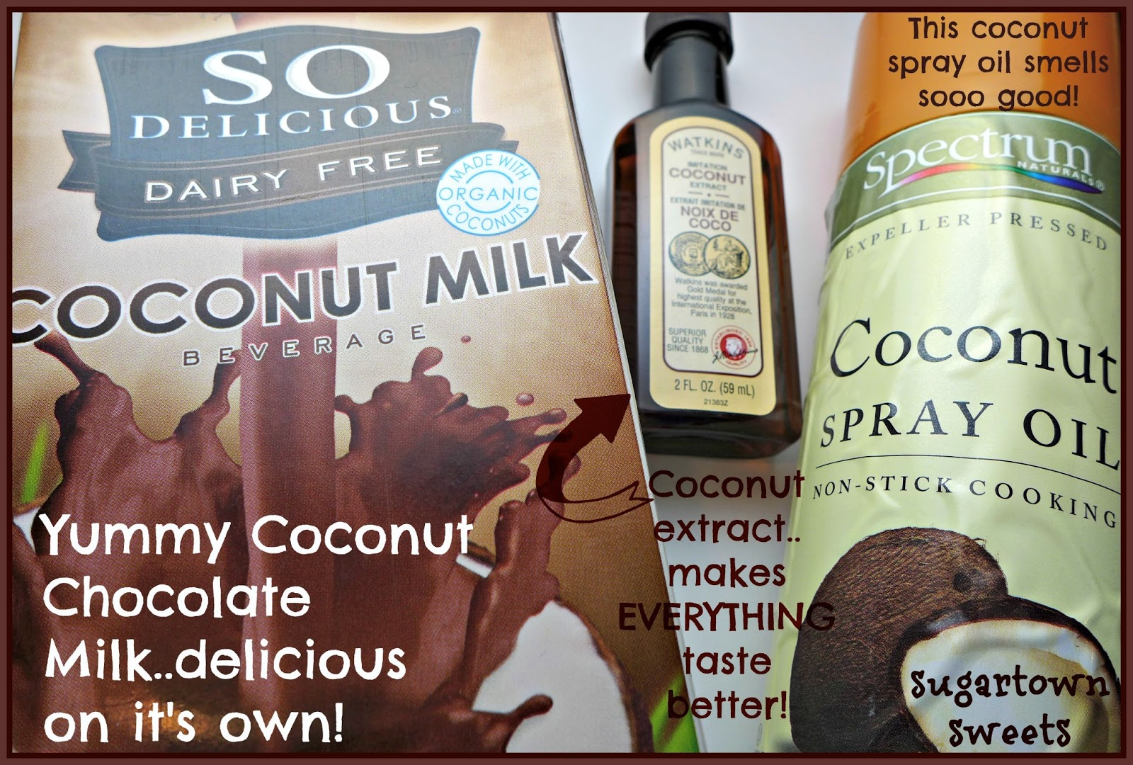 Sugartown Sweets: Chocolate Covered Coconut Chocolate Milk ...