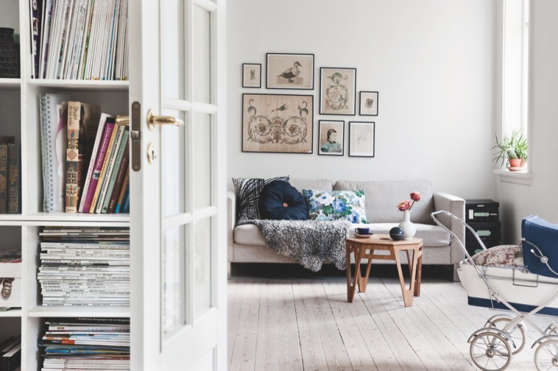 My scandinavian home the family home of a danish stylist for Interieur stylist
