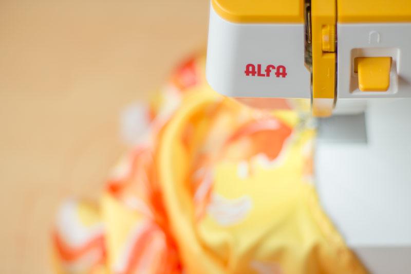 tu primera máquina de coser