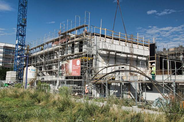 Baustelle Am Fischzug / Krachtstraße, Moderne und helle Eigentumswohnungen, 10245 Berlin, 22.07.2014