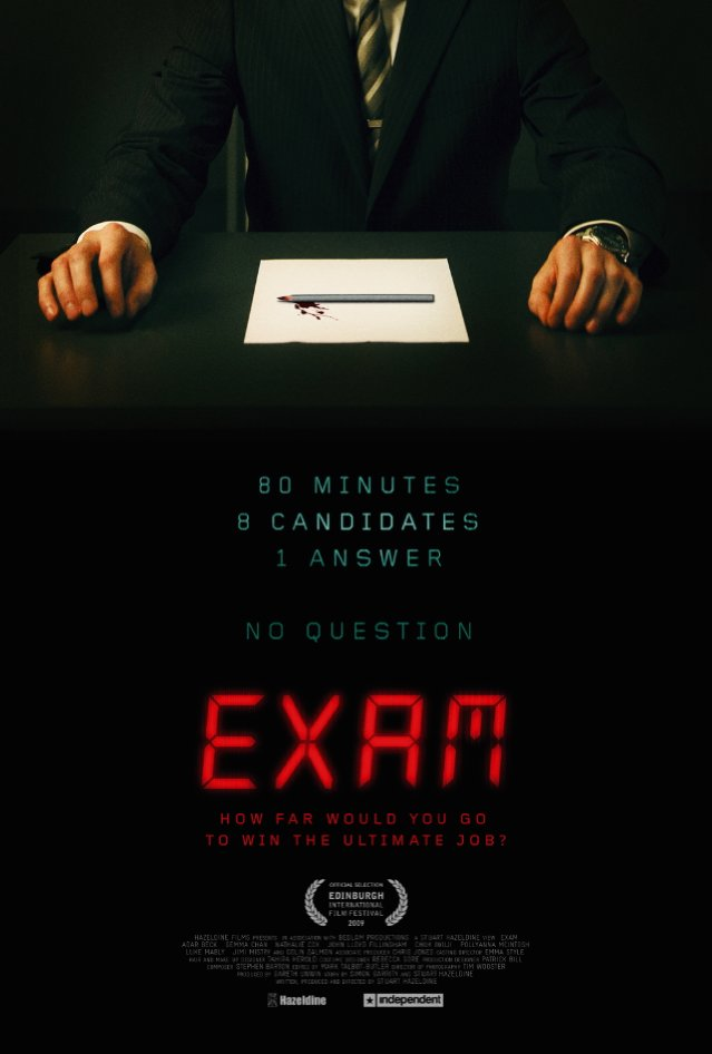 luke mably exam. Starring Luke Mably, Adar