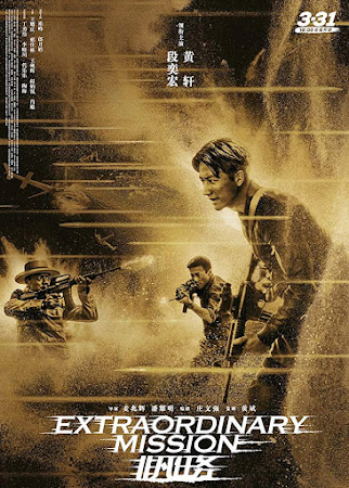 Poster Of Extraordinary Mission In Dual Audio Hindi Chinese 300MB Compressed Small Size Pc Movie Free Download Only At worldfree4u.com