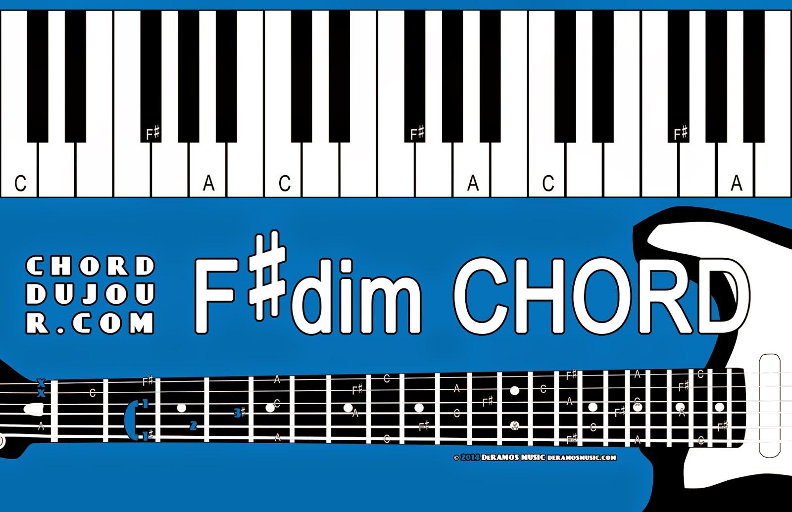 Chord Du Jour Chord Deux Jour Challenge Fdim And Gmaj7