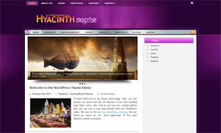 Hyacinth WordPress Theme