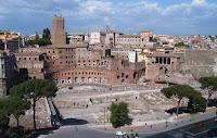 Vista del foro de Trajano