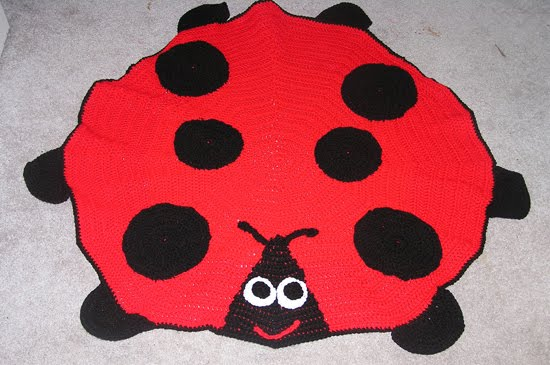 Sabrinas Crochet: Lady Bug Afghan