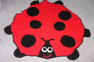 CROCHET PATTERNS LADY BUG AFGHAN GRAPH PATTERN E-MAILED.PDF CROSS