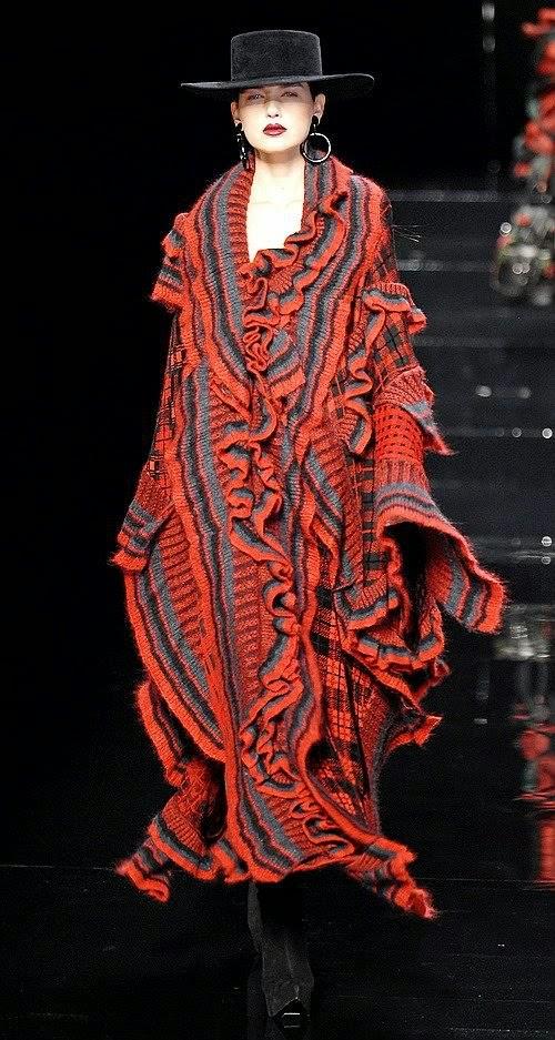 Ponczo Kenzo flamenco