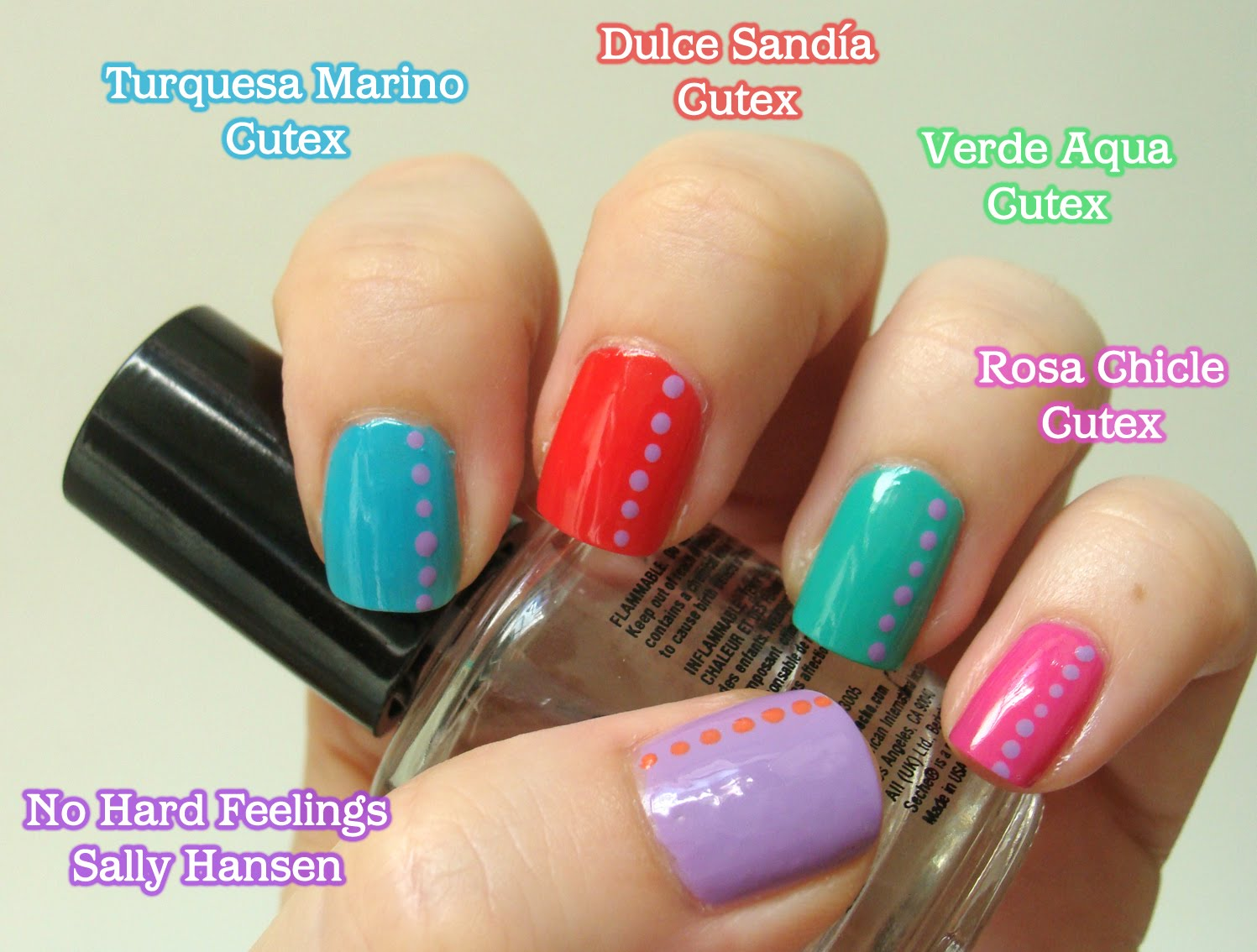 Esmaltes de Julie: Esmaltes Cutex: set x 4