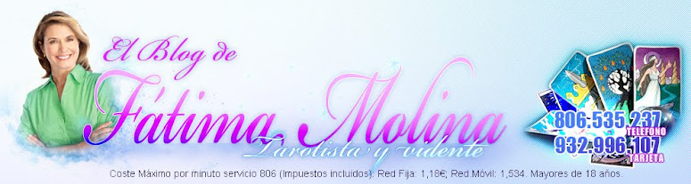 Blog Tarotista Fatima Molina-Tarot,Horoscopos,Rituales y mas.