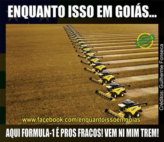 MOTIVACIONAIS: Enquanto isso em Goiás... - Aqui formula 1 é assim !
