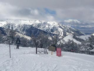 Skiing at the Adobe Marketing Conference, UTAH, USA