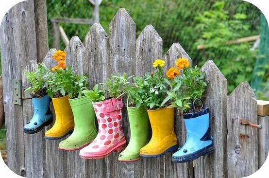 pot bunga unik: 20 ide kreatif pot bunga dan tanaman hias dari barang bekas 2014