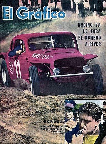 15 de setiembre, 1963 / EL TC CORRIA EN PEHUAJO Y GANABA BORDEU