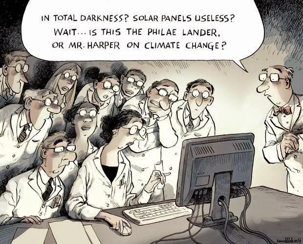 David Parkins: Sephen Harper on Climate Change.
