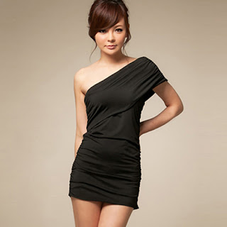 One Shoulder Short Dresses