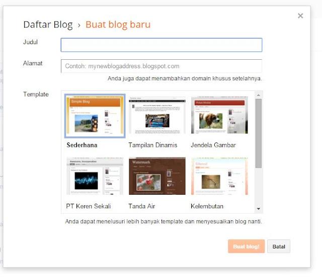 panduan membuat blog bagaimana membuat blog artikel seo