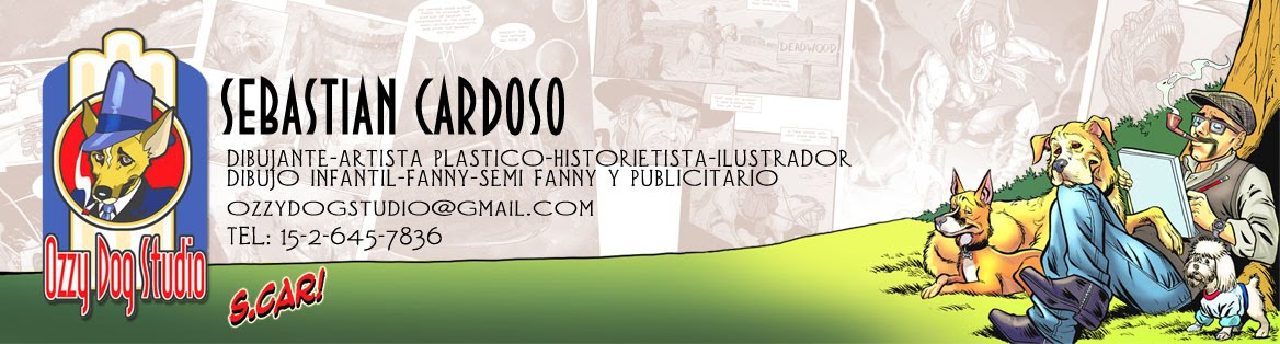 Sebastian Cardoso Draftsman/Dibujante
