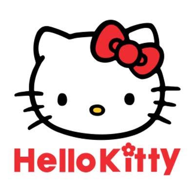Hello Kitty logo vector