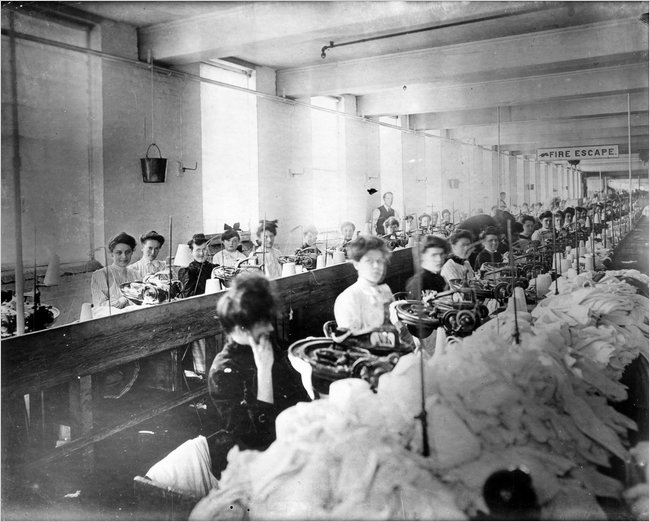 Being a Worker Today and in 1912