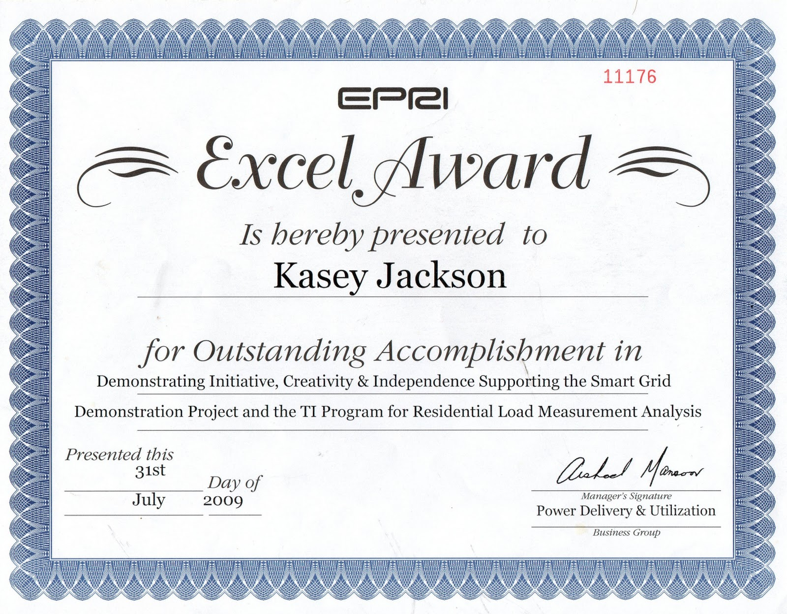 Kasey l jackson awards and certifications servsafe certification 2010 2014 xflitez Image collections