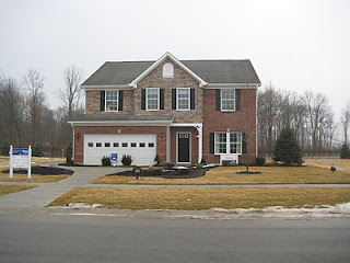 The rome is our new home elevation c more pictures for Brick and stone elevations