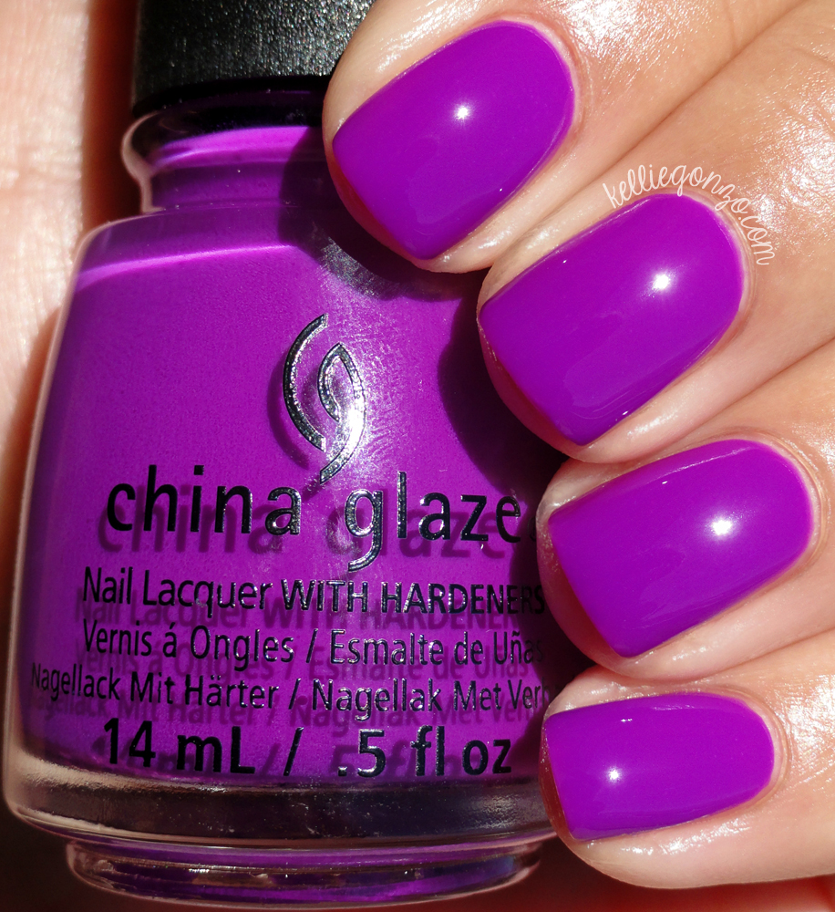 China Glaze Violet-Vibes Electric Nights