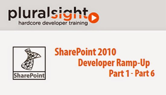 Pluralsight – SharePoint 2010 Developer Ramp-Up – Part 1-6