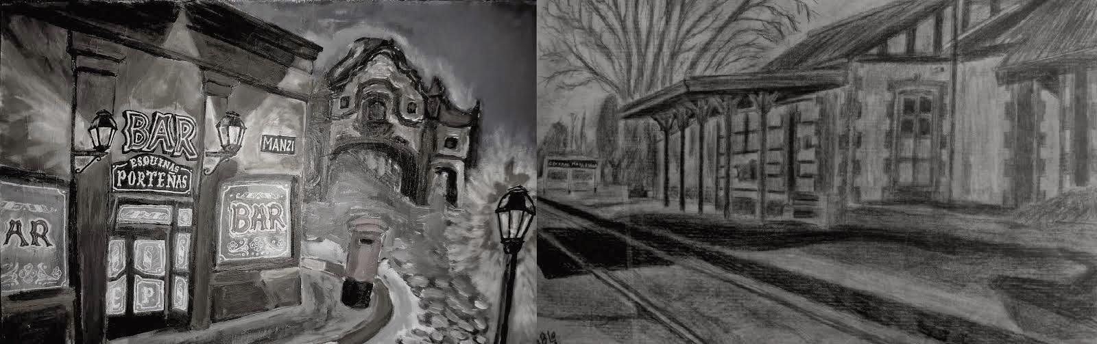 Pablo Alonso - paisajes pictoricos del barrio al pueblo