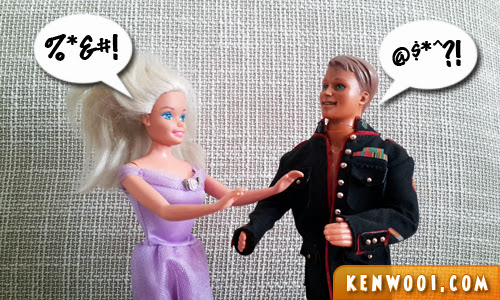 barbie and ken chat