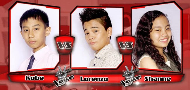 Shane Won Over Kobe and Lorenzo on The Sing-offs for The Voice Kids Philippines