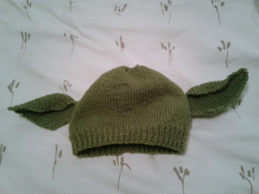 Little Knittle: Yoda/Dobby Hat