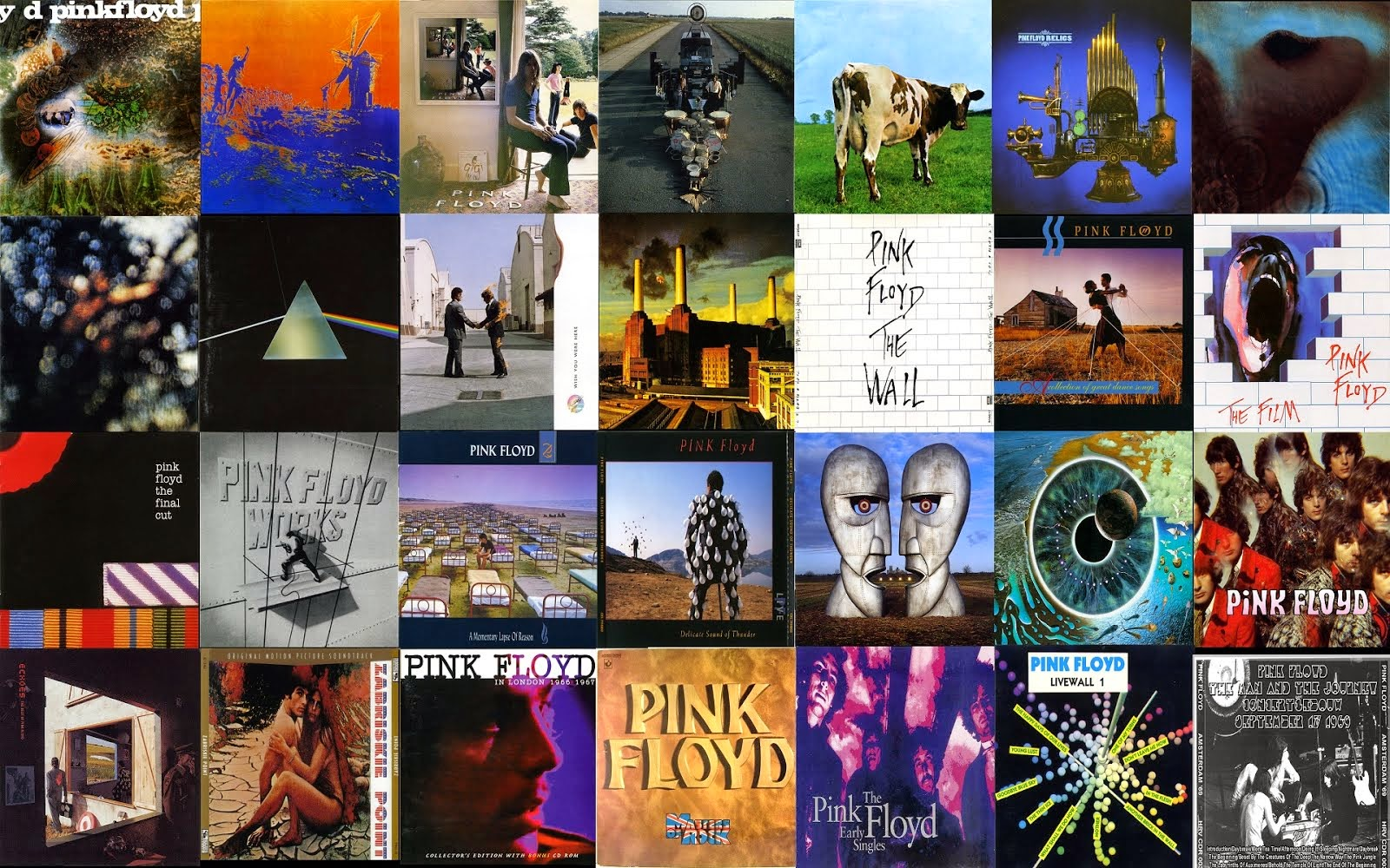 El sitio de Pink Floyd